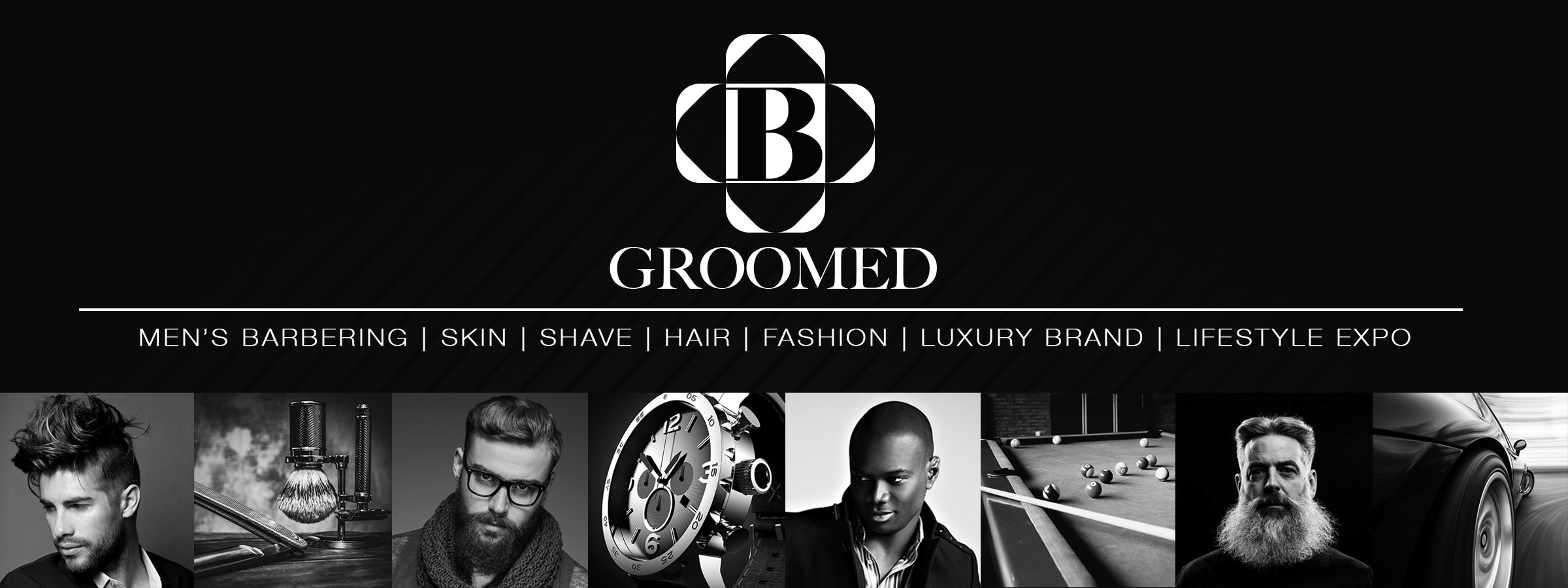 B Groomed - freestyle design