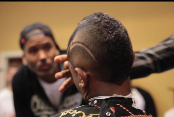 Barber Time : Reality - Black Man Hair Cut In China - Barbertime!