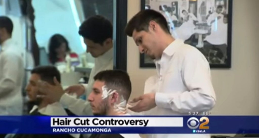hair cut controversy
