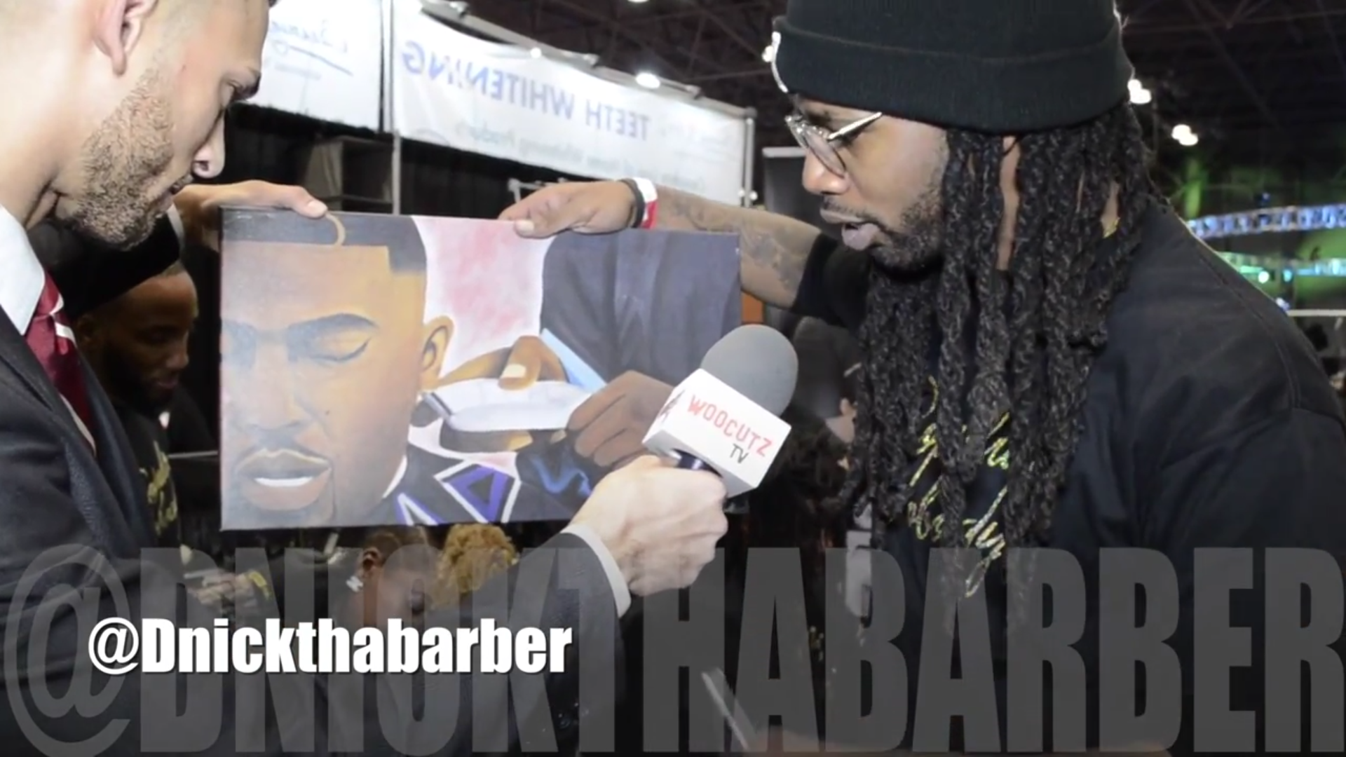 Barber Time : Popular Nobody: Kendick Lamars Barber and team with WooCutz TV Angelo ...