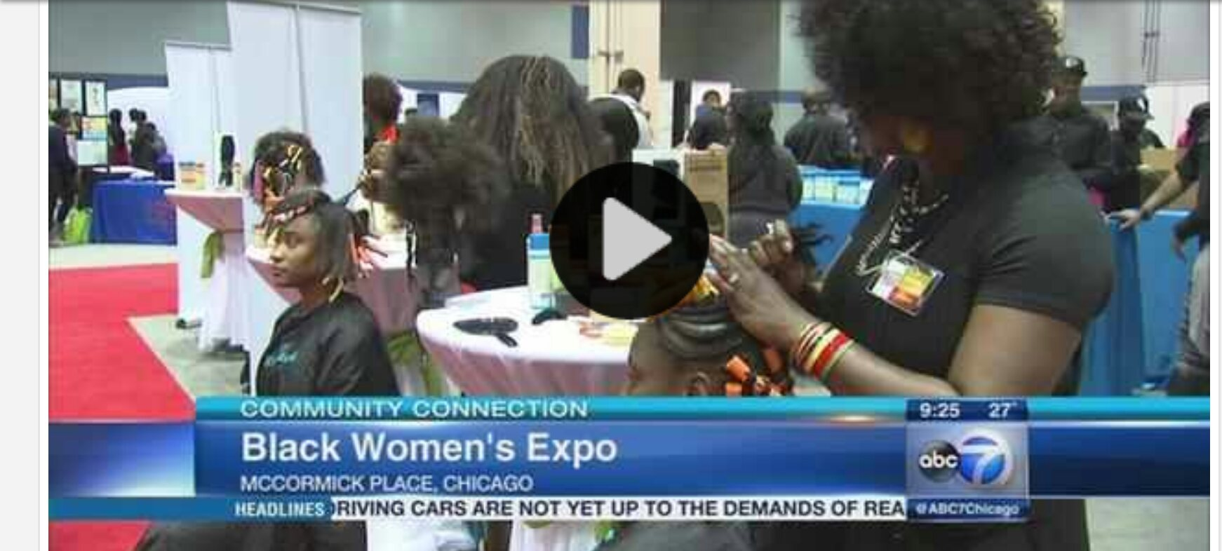 black woman's expo