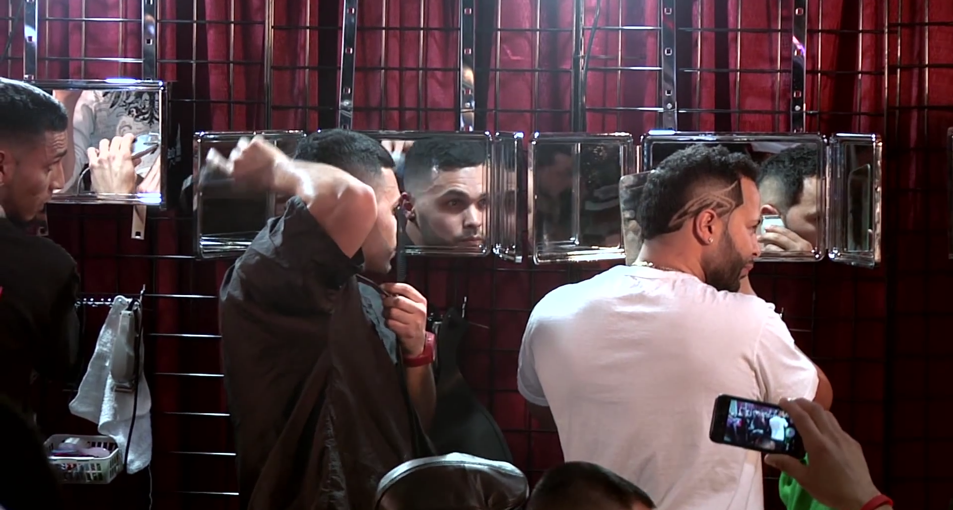 Competition Video Self Cut System Barber Battle
