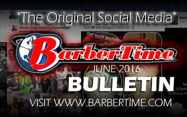 BarberTime Bulletin JUNE 2016